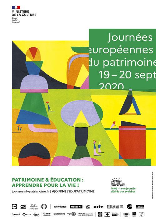 JOURNÉES DU PATRIMOINE – 19 ET 20 SEPTEMBRE 2020