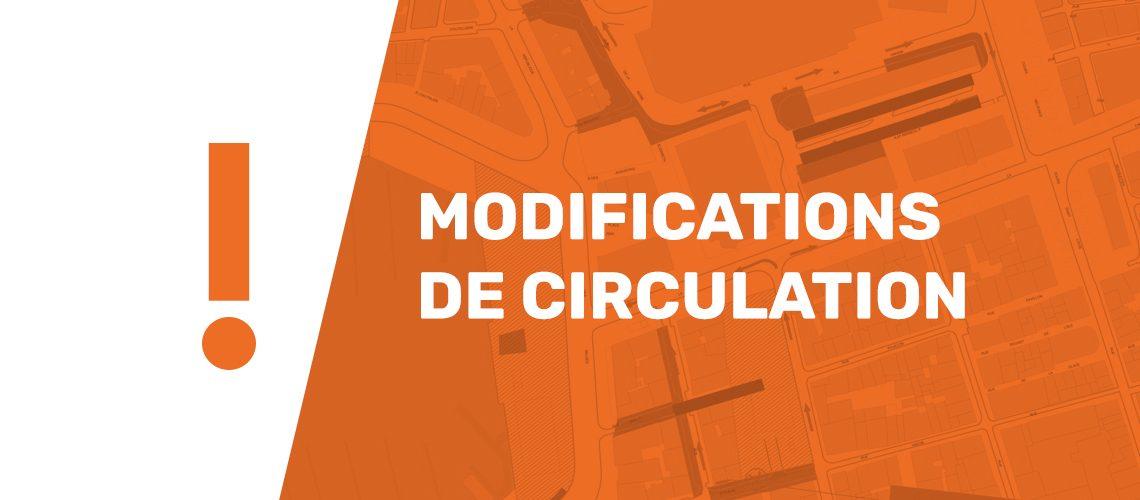 MODIFICATION DE CIRCULATION TEMPORAIRE – RUE LOUIS PERROTIN