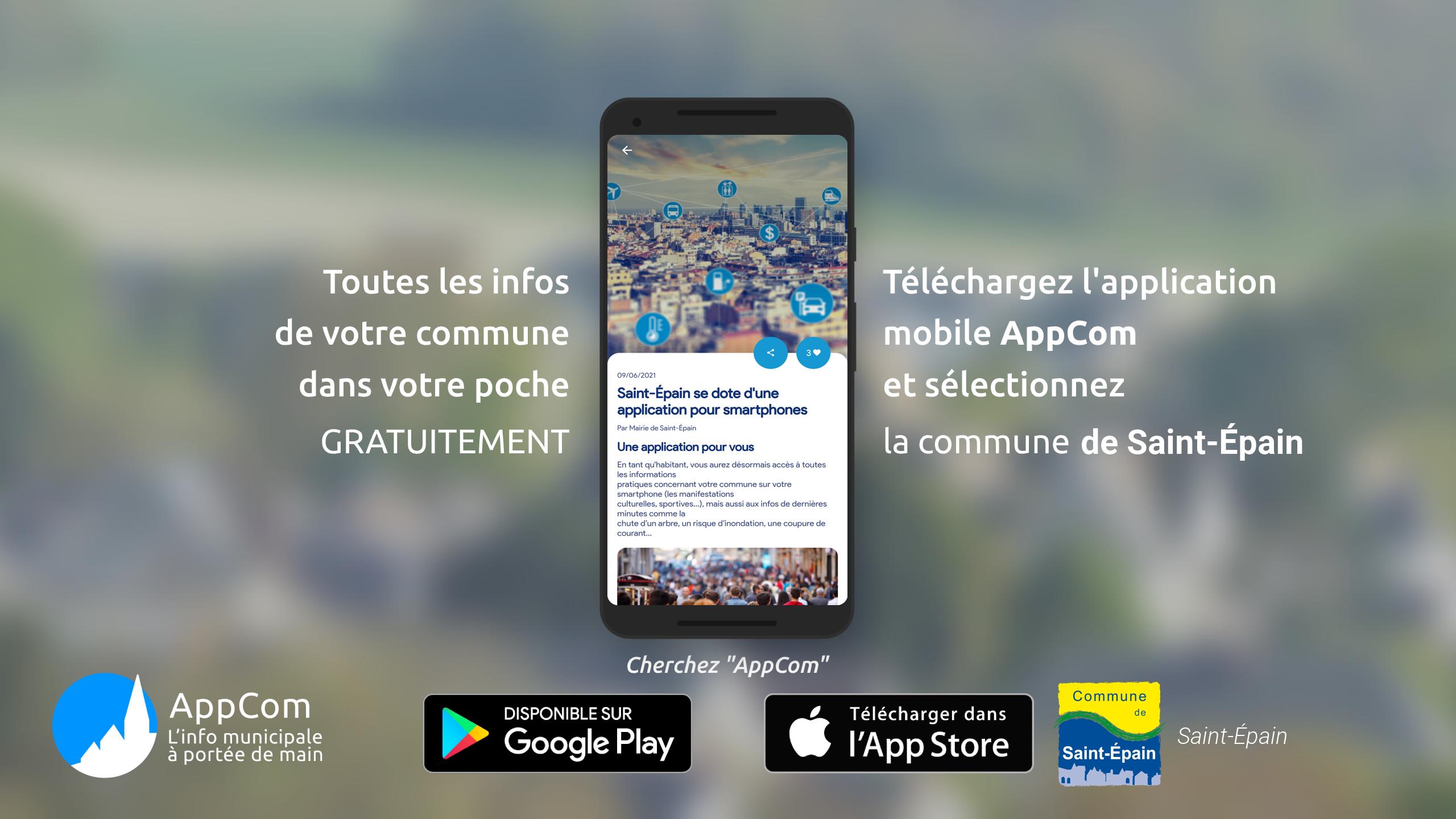 AppCom : votre nouvelle application